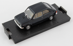 Fiat 127 1971 Dark Blue 1/43 Brumm