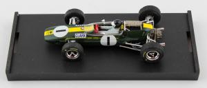 Lotus 33 Gp Germania 1965 1° JIm Clark #1 + Driver WC F1 1/43 Brumm