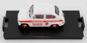 Fiat 600D Abbigliamento Intimo Lovable 1965 1/43 Brumm
