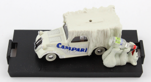 Fiat 500B Furgoncino Campari 1/43 Brumm 100% Made In Italy
