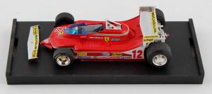 Ferrari 312 T4 G.P. Usa Ovest  1979 Gilles Villeneuve 1/43 Brumm