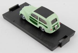 Fiat 500c Belvedere Chiusa 1951 Verde Chiaro 1/43 Brumm