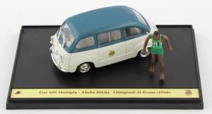 Fiat 600 Multipla Giochi Olimpici Roma 1/43 Brumm 100% Made In Italy