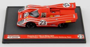 Porsche 917 24H Lm 1970 Hermann Attwood #23 Porsche Salzburg Team 1/43