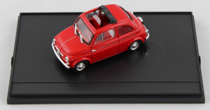Fiat 500D Sexybrumm +Catalogue 2007 35° Anniversary 1/43