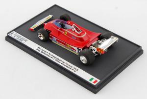 Ferrari 312 T4 Presentazione Fiorano Gilles Villeneuve #12 1/43