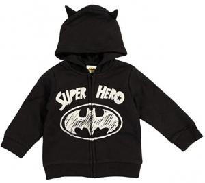 Tuta Batman bambino misure da 12 a 36 mesi Inverno
