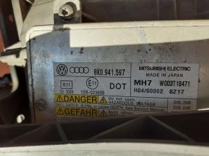 Proiett. xenon sx usato Audi A4 2007>2013< 8k0941597