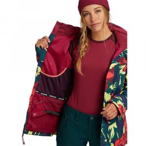 Giacca Snowboard Burton W Jet Set Hibiscus Floral