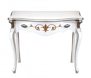 Mesa consola lacada decorada colección Sensations