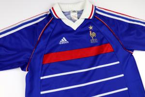 1998-00 Francia Maglia Home (Top) *Ragazzo