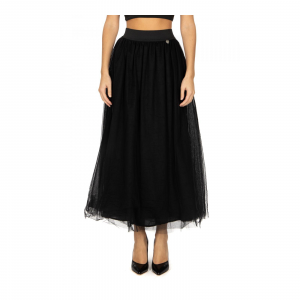 GONNA LUNGA IN TULLE