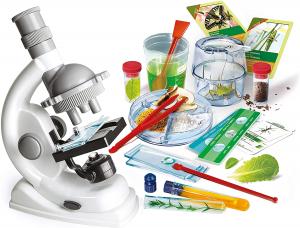 Microscopio super kit dai 8 anni Scienza e gioco Clementoni