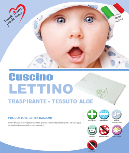 Cuscino lettino Aloe  related image