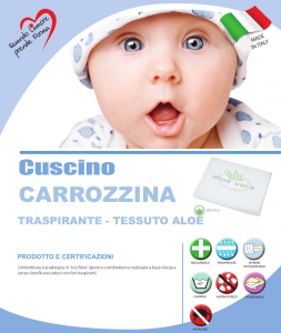 Cuscino Carrozzina Aloe  related image