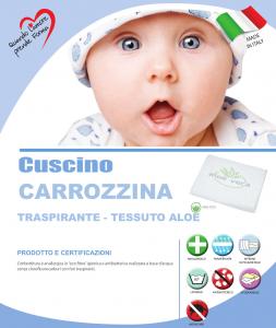 Cuscino Carrozzina Aloe  related image