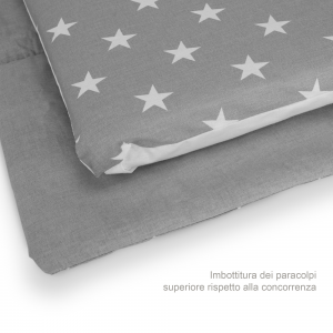 Completo Piumone Lettino Little Star  Grigio  related image