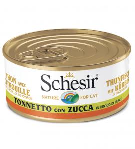Schesir Cat - In Brodo di cottura - 70g x 6lattine