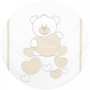 Completo Piumone Lettino BabyBear Beige related image