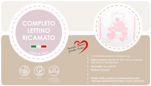 Completo Piumone Lettino Baby Bear Rosa related image