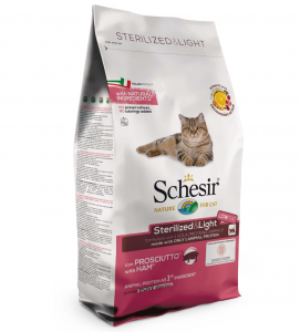 Schesir Cat - Sterilized & Light - 10 kg