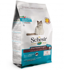 Schesir Cat - Sterilized & Light - 1.5 kg