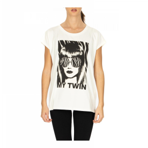 T-SHIRT M/C IN JERSEY CON STAMPA