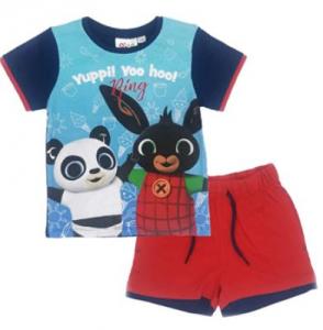 Completo bing T-Shirt con Pantaloncino