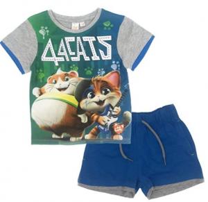 Completo T-Shirt con Pantaloncini Corti 44 Gatti