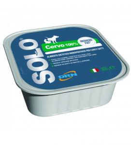 DRN - Solo Blu - Cervo Low Fat - 300 g x 6 vaschette