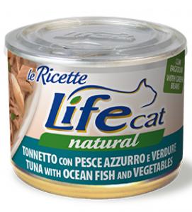 Life Cat - Natural - Le ricette - 150g x 6 lattine