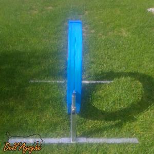 Ruota in gomma piuma e collassabile per agility dog, Dell'Agoghè