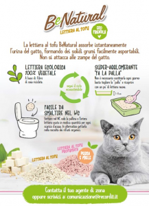 CAT&RINA LETTIERA AL TOFU AGGLOMERANTE 5,5L NATURAL