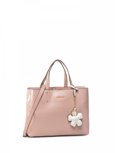 Borsa M Satchel Isola rose LIU JO