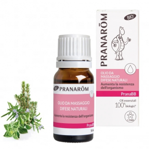 Olio Massaggio Difese Naturali Bio