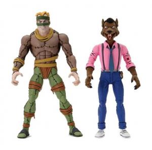 *PREORDER* Teenage Mutant Ninja Turtles Action Figure: RAT KING & VERNON by Neca