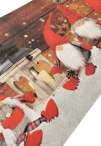 Tappeto a metraggio Gnomi natalizi