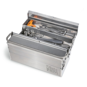 CESTELLO ESTENDIBILE A 5 SCOMPARTI in acciaio inossidabile AISI 304 - BETA C20TSS