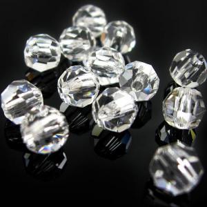 Perla 10 mm sfaccettata cristallo -Asfour 1502-