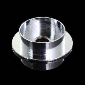 Centra tazza in ottone tornito finitura cromo Ø40 x h11 imposta 30 mm + F10x1