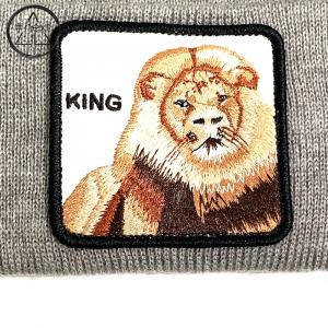 Goorin Bros - Animal Farm Beanie - King grigio