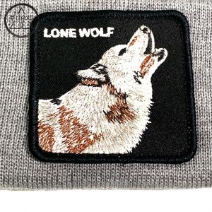 Goorin Bros - Animal Farm Beanie - Lone Wolf grigio