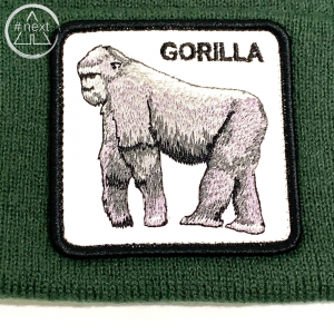 Goorin Bros - Animal Farm Beanie - Gorilla verde