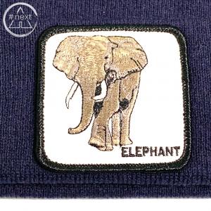 Goorin Bros - Animal Farm Beanie - Elephant blue navy