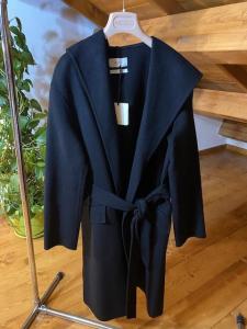 Cappotto 3/4 Vicolo con cappuccio e cintura in vita