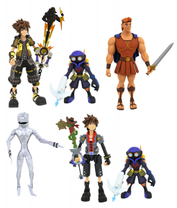 Kingdom Hearts 3 Action Figures: SERIE 2 COMPLETA by Diamond Select Toy