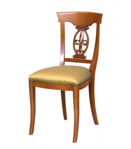 Stuhl Lilie mit Polstersitz Light Style