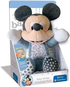 Baby mickey goodnight plush di Clementoni dai 6 mesi