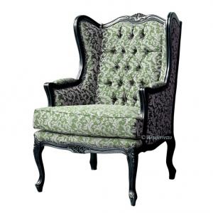 Classic armchair Bergère style