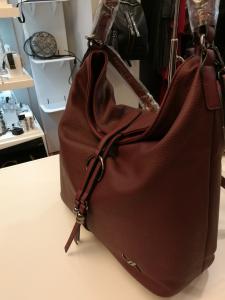 Morbida borsa bordò | Vendita online borse donna
